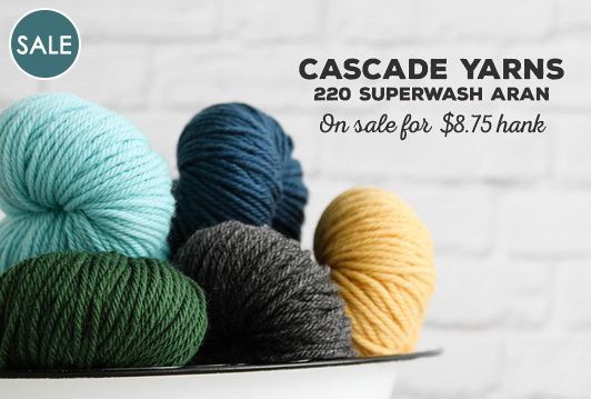 Cascade Yarns 220 Superwash Aran