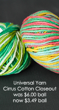 Universal Yarn Cirrus Cotton Closeout