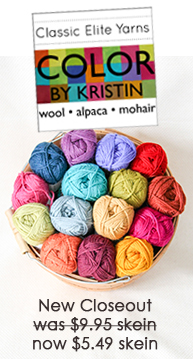 Classic Elite Yarns Color by Kristin Closeout