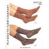 Plymouth Yarn 1382 Basic And Ribbed Socks