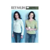 Reynolds 82235 Open & Closed V-Neck Pullovers