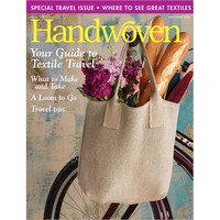 Handwoven Magazine Back Issues