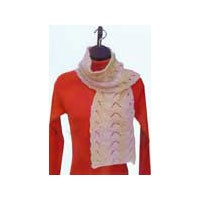 1286 Bear Paw Reversible Scarf