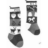 Yankee Knitter Designs 24 Traditional Christmas Stockings