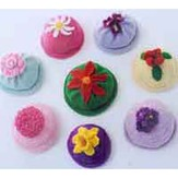 Ann Norling 22 Kid's Flower Caps