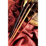 "Lantern Moon Rosewood 10"" Single Point Needles"