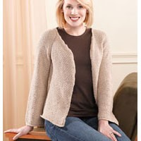 201 Sand Pebbles Top-Down Cardigan