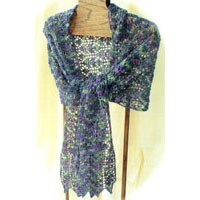 H35 Scotch Thistle Lace Stole