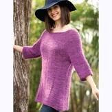 Be Sweet Hyde Park Sweater and Cowl Set PDF