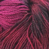 BFL Fingering Hand Dyed by the Kangaroo Dyer