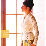 Blue Sky Alpacas Fitted Lace Pullover