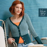 Blue Sky Fibers Skinny Cardigan