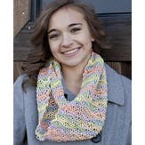 Cascade Yarns W556 The Wave Cowl (Free)
