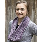 Cascade Yarns W617 Purple Thistle Cowl (Free)