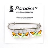 Paradise Exotic Charming Stitch Markers
