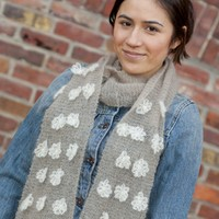 Pirouette Flower Scarf (Free)