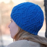 Classic Elite Yarns Filigree Cap (Free)
