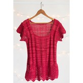 Classic Elite Yarns Feather & Fan Ribbed Tee (Free)