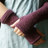 Classic Elite Yarns Kumara Arm Warmers (Free)