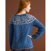 Classic Elite Yarns Big Liberty Wool Yoke Pullover (Free)
