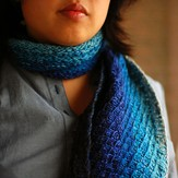 Cosmicpluto Knits Dipped Infinity Scarf PDF