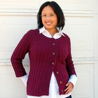 Monday Morning Cardigan PDF