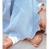 Debbie Bliss Baby's First Blanket & Hat PDF
