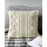 Debbie Bliss Lace and Cable Cushions PDF