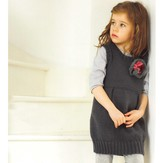 Debbie Bliss Pinafore Dress PDF