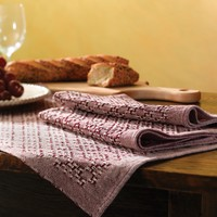 #21 Huck Lace Placemats (Free)
