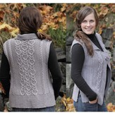 Lisa Ellis Designs AS-24 Royal Cables Vest PDF