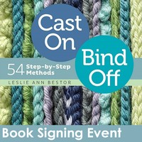 Cast On, Bind Off Book Signing Event, June 14