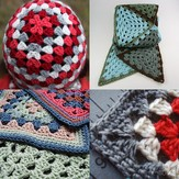 Granny Squares, Circles, Triangles, and Stripes