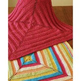 Fiber Trends CH44X Ribbons Baby Blanket