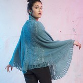 The Fibre Company + Kelbourne Woolens Vesa Shawl - Pathways Collection