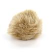 Universal Yarn Luxury Fur Pom Poms - Tan