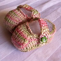 Baby Mary Jane Booties PDF