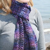 Gardiner Yarn Works Midnight Lace Scarf PDF