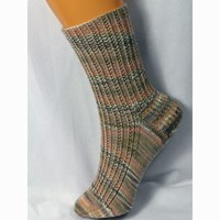 Seedy Rib Socks PDF