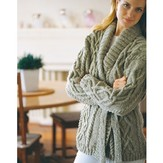 Jo Sharp Cable Wrap Cardigan PDF