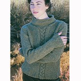 Jo Sharp Rebecca Cable Sweater PDF