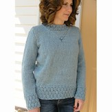 Knit One Crochet Too 1930 Weekender Pullover