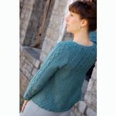 Knit One Crochet Too 2056 Twin Peaks Cardi
