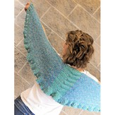 Knit One Crochet Too 2072 Summer Night Shawlette