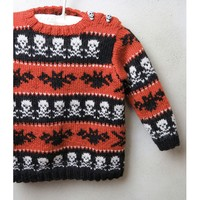 2132 Little Monster Pullover