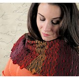 Knit One Crochet Too 2262 Reversible Pathways Shawl