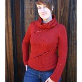 Kira K. Designs 102 Traveling Eyelet Sweater PDF