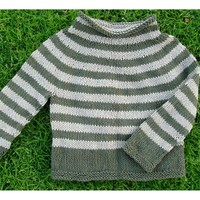 704 Concentric Circles Pullover PDF