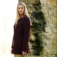 Twisted Cable Cardigan Kit