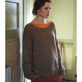 Debbie Bliss Wide Necked Sweater Kit